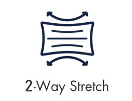 2 Way Stretch Icon - MaskMarket.com